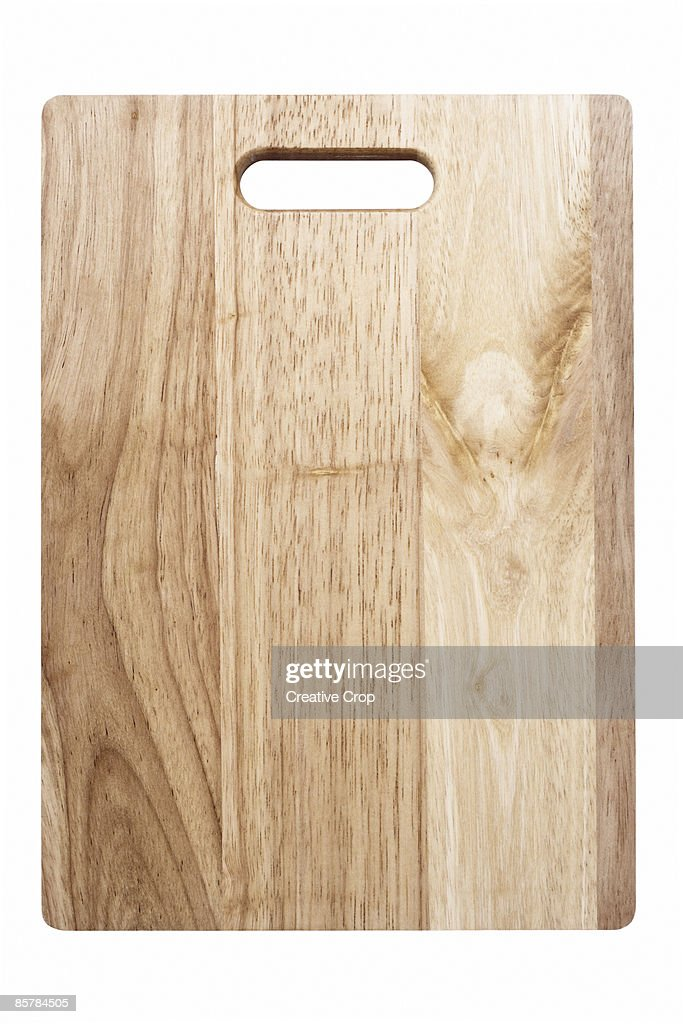 Wooden kitchen chopping board