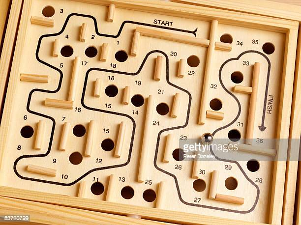 Wooden Labyrinth puzzle