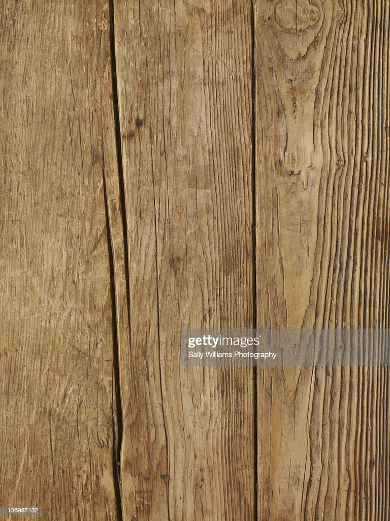 Wooden oak table top : Stock Photo