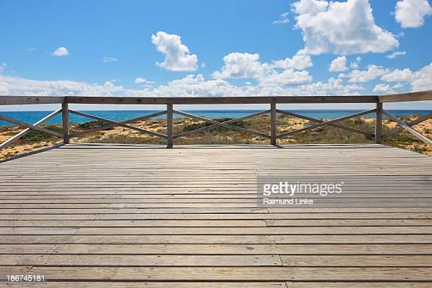 Wooden Observation Deck
