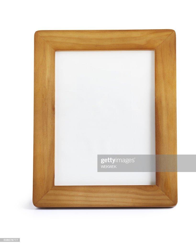 Cadre photo en bois : Photo