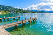 Most popular lake in Austria for summer holidays