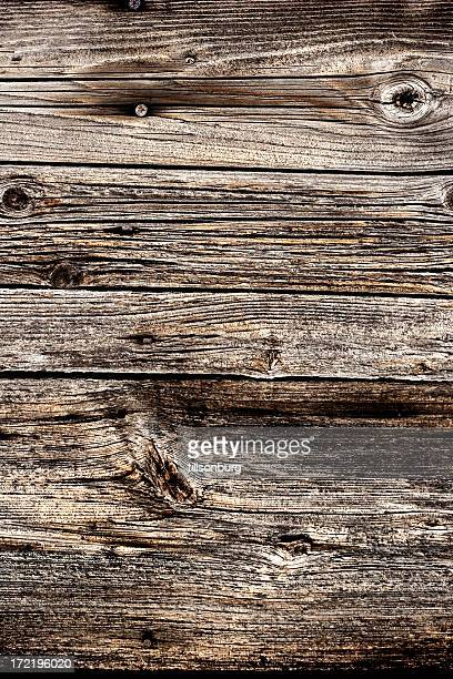 Wooden plank wall siding close up