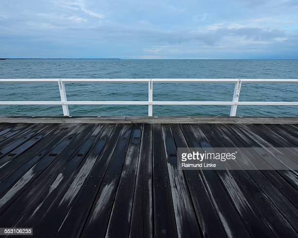 Wooden Planks of Jetty