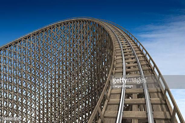roller coaster in legno di