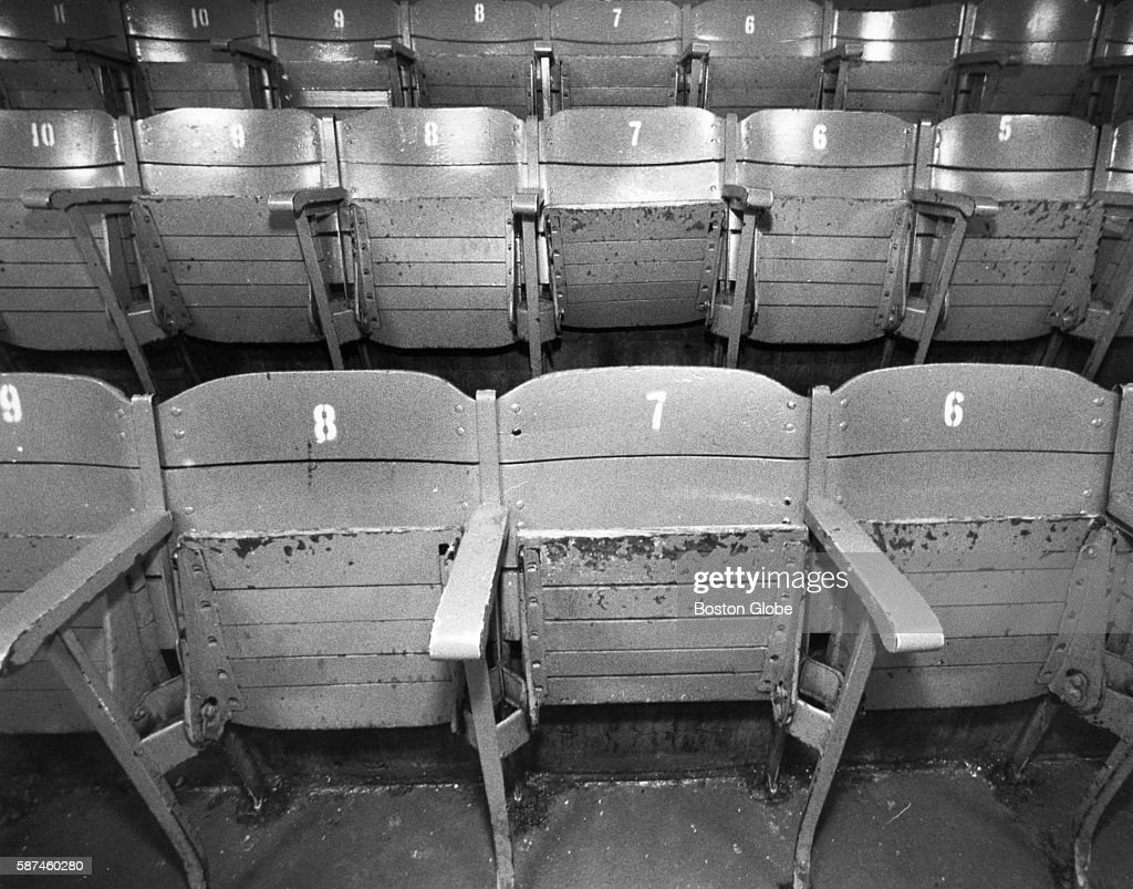 Boston Garden Seats Pictures Getty Images