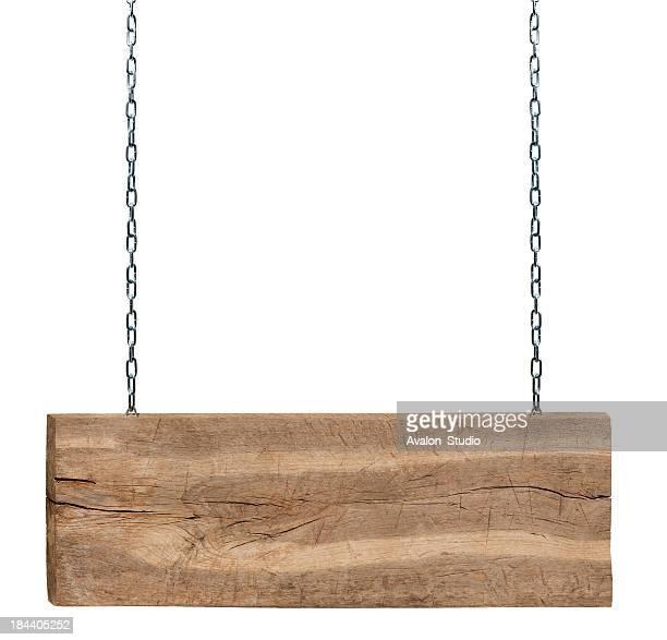 Wooden Schild