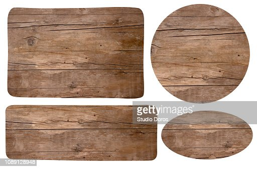 Wooden signes : Stock Photo
