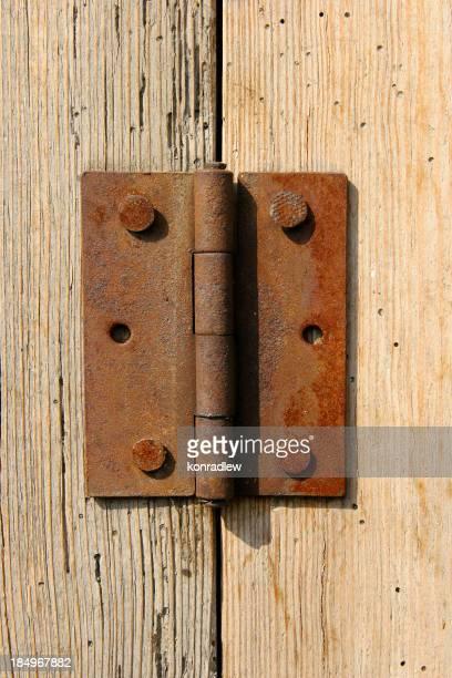 Wooden texture - hinge