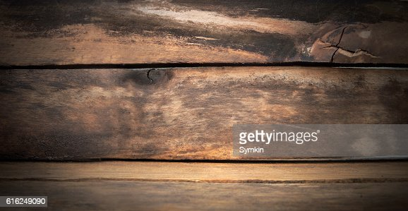Wooden texture. Wet after the rain : Foto de stock
