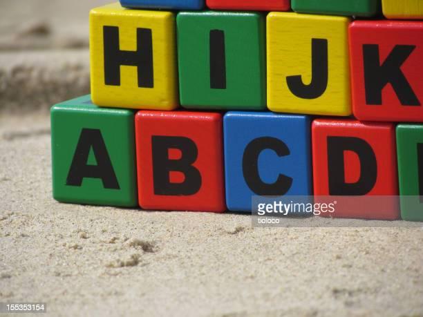 ABC Wooden Toy Blocks