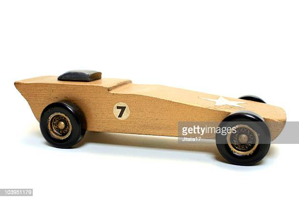 Wooden Toy Racer - Pinewood Derby