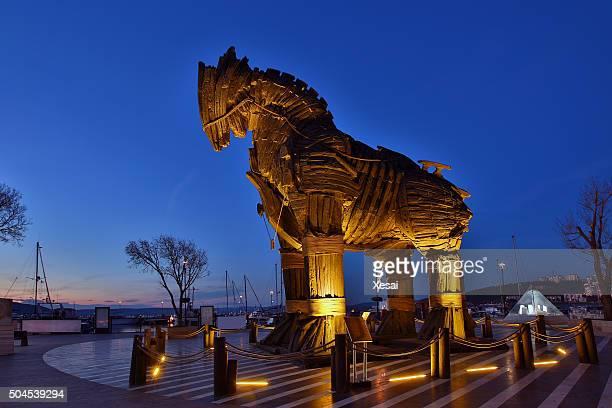 Wooden Trojan Horse