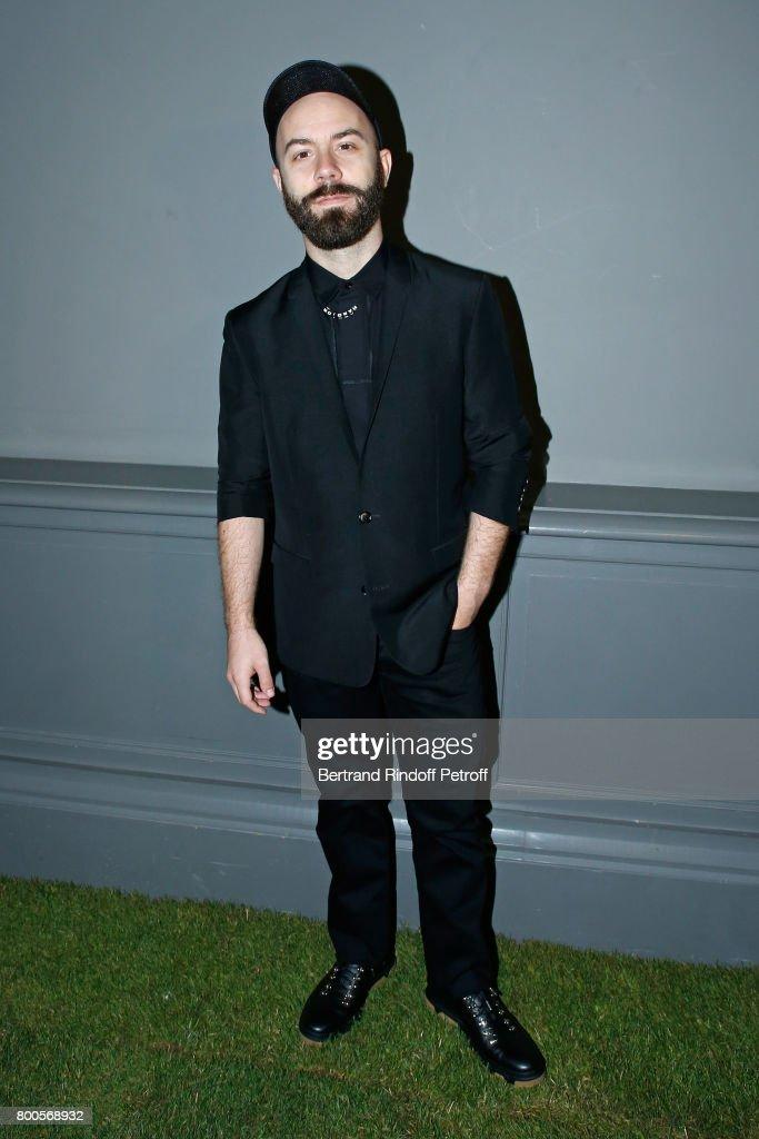Dior Homme : Front Row  - Paris Fashion Week - Menswear Spring/Summer 2018