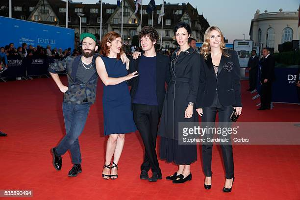 Woodkid Valerie Donzelli Vincent Lacoste Geraldine Maillet and Laurence Arne attend the premiere of the film 'Killing Season' during the 39th...