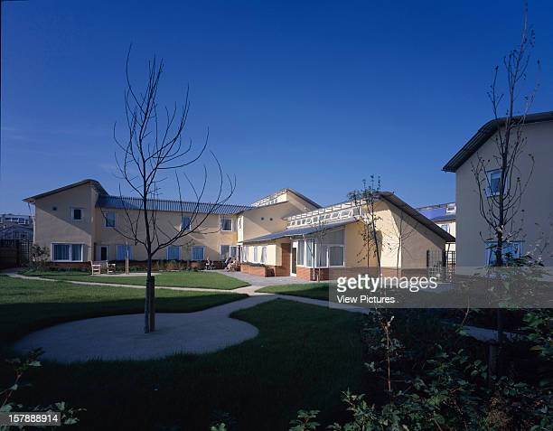 Woodland Nursing Home London United Kingdom Architect Penoyre And Prasad Woodland Nursing Home Exterior With Blue Sky And Tree