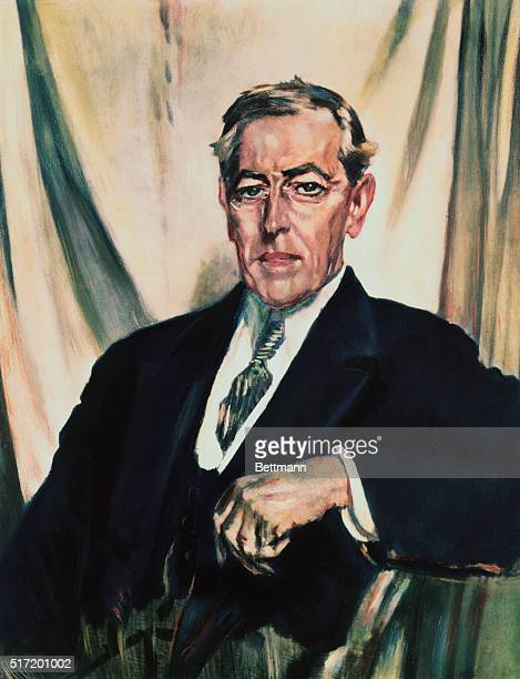 Head and shoulders painting by Sir William Orpen 1919