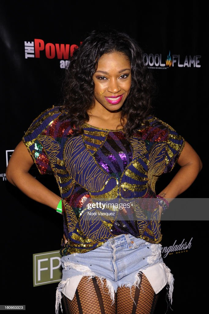 <a gi-track='captionPersonalityLinkClicked' href=/galleries/search?phrase=D.+Woods&family=editorial&specificpeople=775371 ng-click='$event.stopPropagation()'>D. Woods</a> attends the Coool Flame Magazine launch party at private residence on February 7, 2013 in Los Angeles, California.