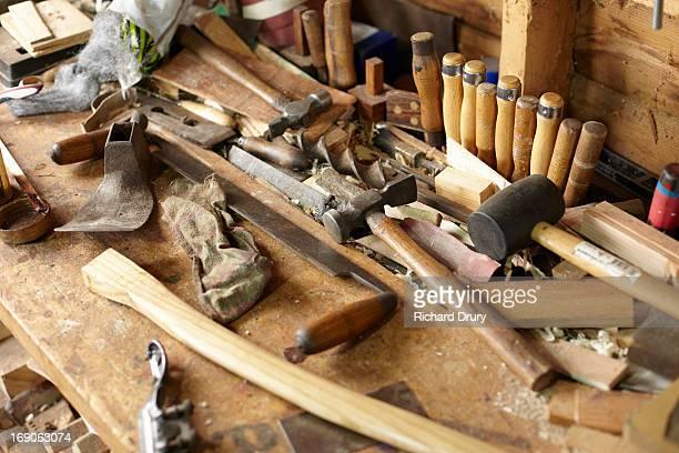 Woodsman's workbench