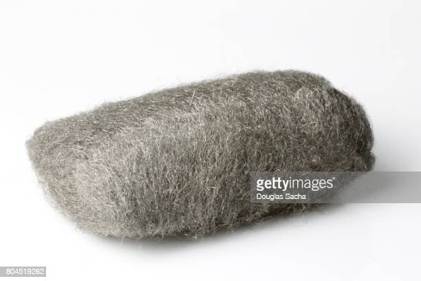 Woodworkers Steel Wool pad on a white background