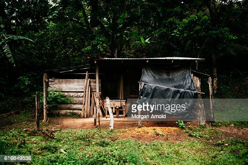 A woodworking workshop in rural Nicaragua : Stock Photo
