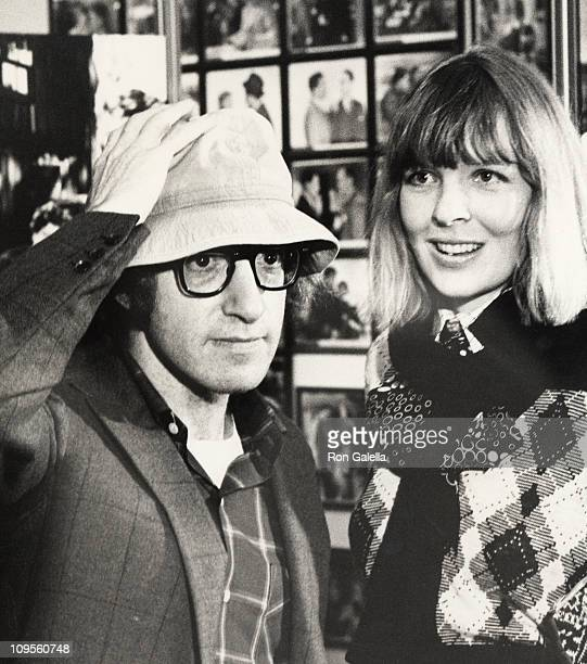 Woody Allen and Diane Keaton in 1972 NYC during Book Party for 'A Tracy and Hepburn Film Memoir' September 12 1972 at Lincoln Center in New York New...