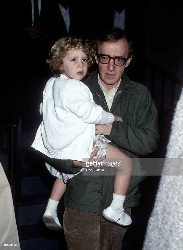<a gi-track='captionPersonalityLinkClicked' href=/galleries/search?phrase=Woody+Allen&family=editorial&specificpeople=202886 ng-click='$event.stopPropagation()'>Woody Allen</a> and Dylan O'Sullivan Farrow during Mia Farrow and <a gi-track='captionPersonalityLinkClicked' href=/galleries/search?phrase=Woody+Allen&family=editorial&specificpeople=202886 ng-click='$event.stopPropagation()'>Woody Allen</a> Sighting at Her Apartment in New York City - May 2, 1989 at Mia Farrow's Apartment in New York City, New York, United States.