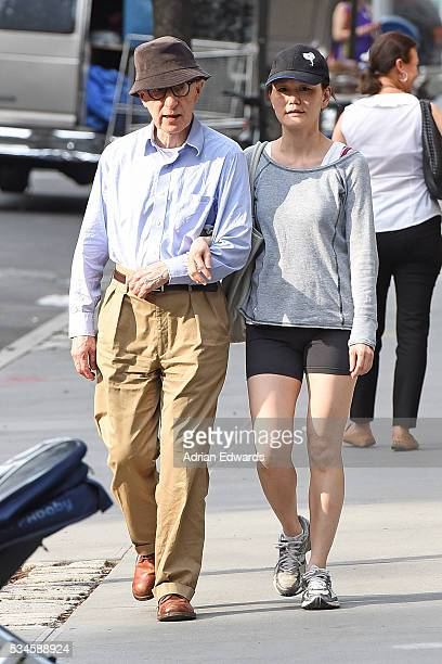 Woody Allen and SoonYi Previn seen on May 26 2016 in New York City