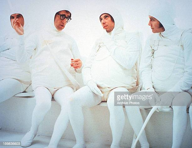 Woody Allen as a sperm in a scene from the film 'Every Thing You Always Wanted To Know About Sex * But Were Afraid To Ask' 1972