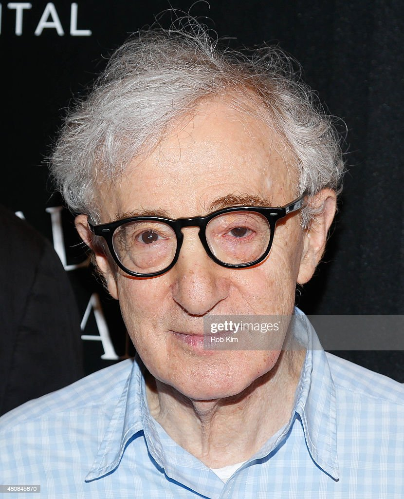 <a gi-track='captionPersonalityLinkClicked' href=/galleries/search?phrase=Woody+Allen&family=editorial&specificpeople=202886 ng-click='$event.stopPropagation()'>Woody Allen</a> attends Sony Pictures Classics 'Irrational Man' premiere hosted by Fiji Water, Metropolitan Capital Bank and The Cinema Society on July 15, 2015 in New York City.