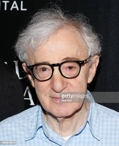 Woody Allen attends Sony Pictures Classics 'Irrational Man' premiere hosted by Fiji Water Metropolitan Capital Bank and The Cinema Society on July 15...