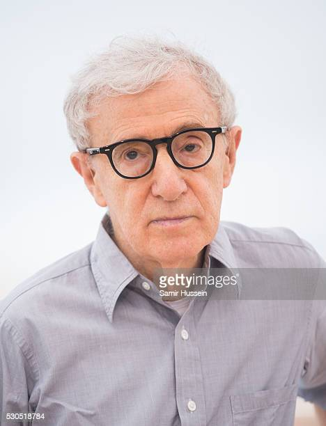 Woody Allen attends the 'Cafe Society' photocall during the 69th annual Cannes Film Festival at Palais des Festivals on May 11 2016 in Cannes France