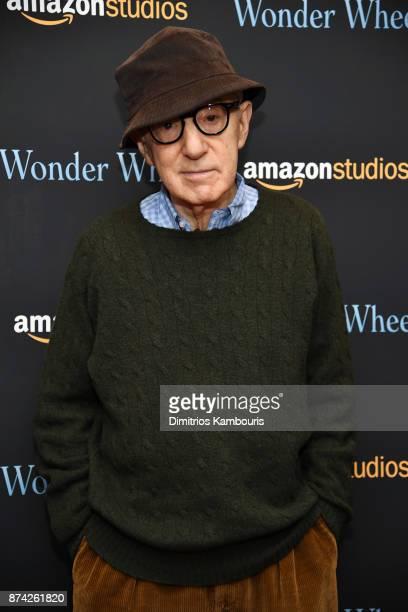 Woody Allen attends the 'Wonder Wheel' screening at Museum of Modern Art on November 14 2017 in New York City