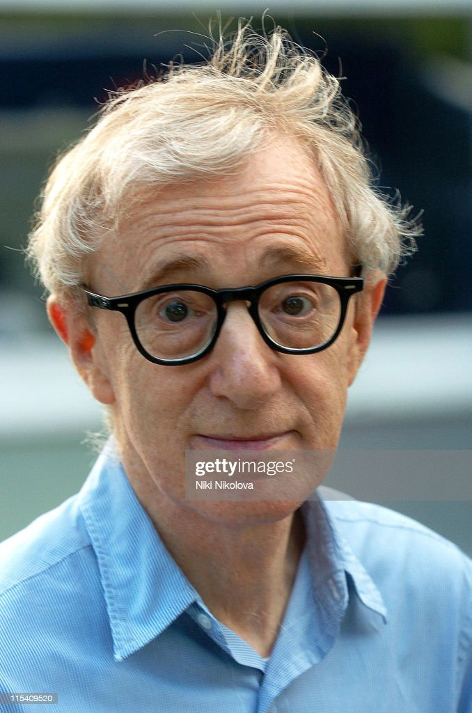 Woody Allen Departs Film Set in London - July 28, 2005