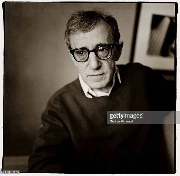 Woody Allen in Toronto Canada May 6 at the Windsor Arms Hotel promoting his film 'Hollywood Ending'