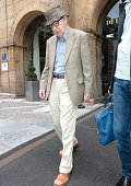 Woody Allen is seen on July 1 2015 in Oviedo Spain