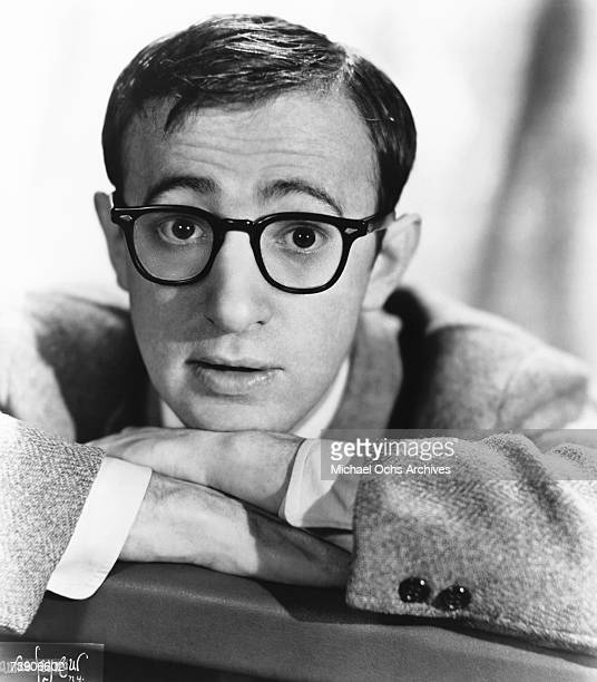 Woody Allen poses for a portrait circa 1960 in New York City New York
