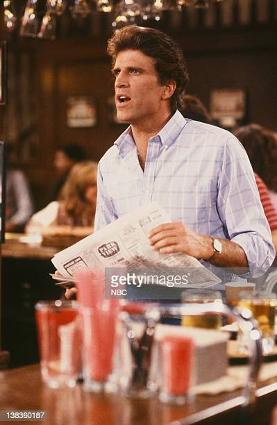 CHEERS 'Woody Goes Belly Up' Episode 2 Air Date Pictured Ted Danson as Sam Malone