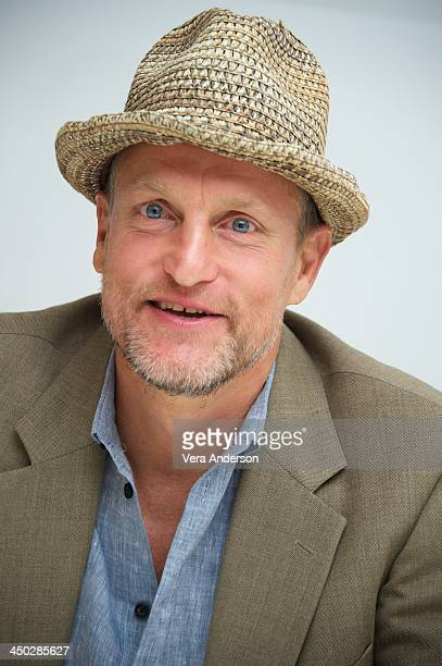Woody Harrelson at the 'Out Of The Furnace' Press Conference at the Four Seasons Hotel on November 16 2013 in Beverly Hills City