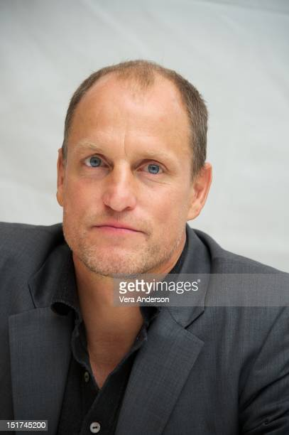 Woody Harrelson at the 'Seven Psychopaths' Press Conference at the ShangriLa Hotel on September 8 2012 in Toronto Ontario
