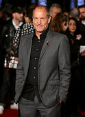 Woody Harrelson attends 'The Hunger Games Mockingjay Part 2' UK premiere at Odeon Leicester Square on November 5 2015 in London England