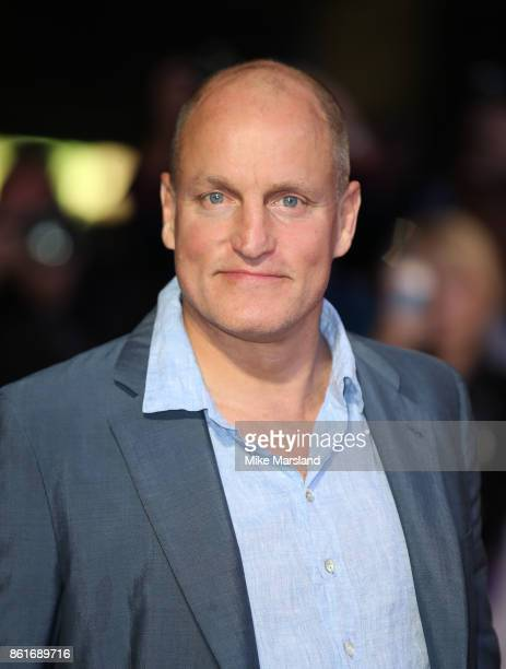 Woody Harrelson attends the UK Premiere of 'Three Billboards Outside Ebbing Missouri' at the closing night gala of the 61st BFI London Film Festival...