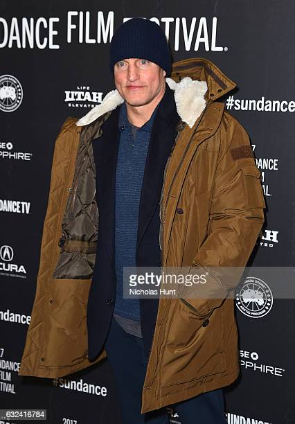 Woody Harrelson attends the 'Wilson' Premiere on day 4 of the 2017 Sundance Film Festival at Eccles Center Theatre on January 22 2017 in Park City...