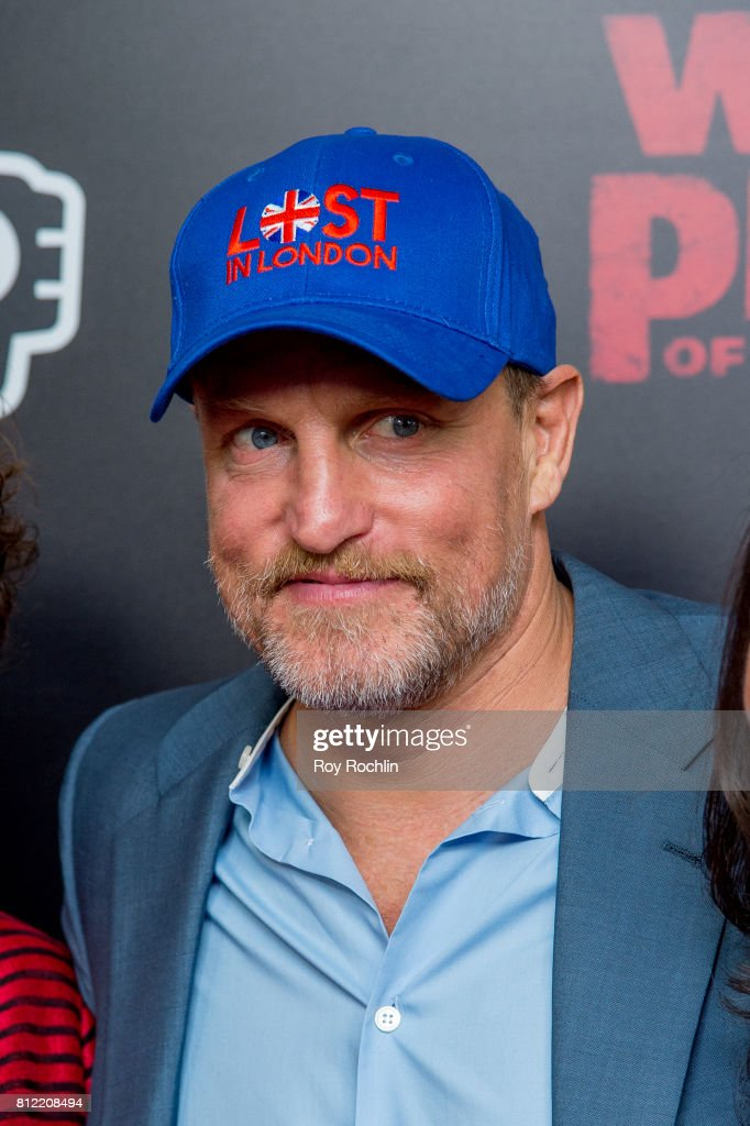 Woody Harrelson attends 'War For The Planet Of The Apes' New York Premiere at SVA Theater on July 10, 2017 in New York City.
