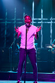 LIVE 'Woody Harrelson' Episode 1668 Pictured Musical guest Kendrick Lamar performs on November 15 2014