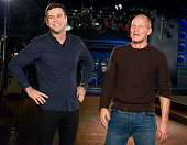 LIVE 'Woody Harrelson' Episode 1668 Pictured Taran Killam and Woody Harrelson on November 11 2014
