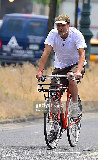 Woody Harrelson is seen on the West Side Highway on June 11 2015 in New York City