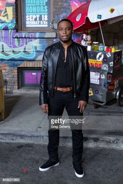 Woody McClain arrives for VH1's Hip Hop Honors The 90's Game Changers at Paramount Studios on September 17 2017 in Hollywood California