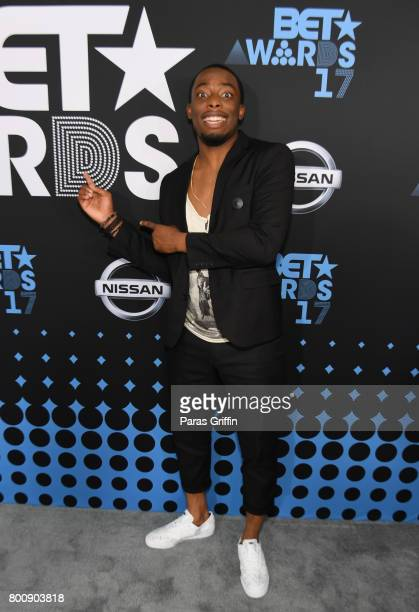 Woody McClain at the 2017 BET Awards at Staples Center on June 25 2017 in Los Angeles California