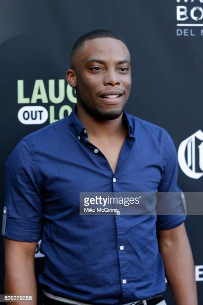 Woody McClain attends Launch Of Laugh Out Loud hosted by Kevin Hart And Jon Feltheimer on August 03 2017 in Los Angeles California